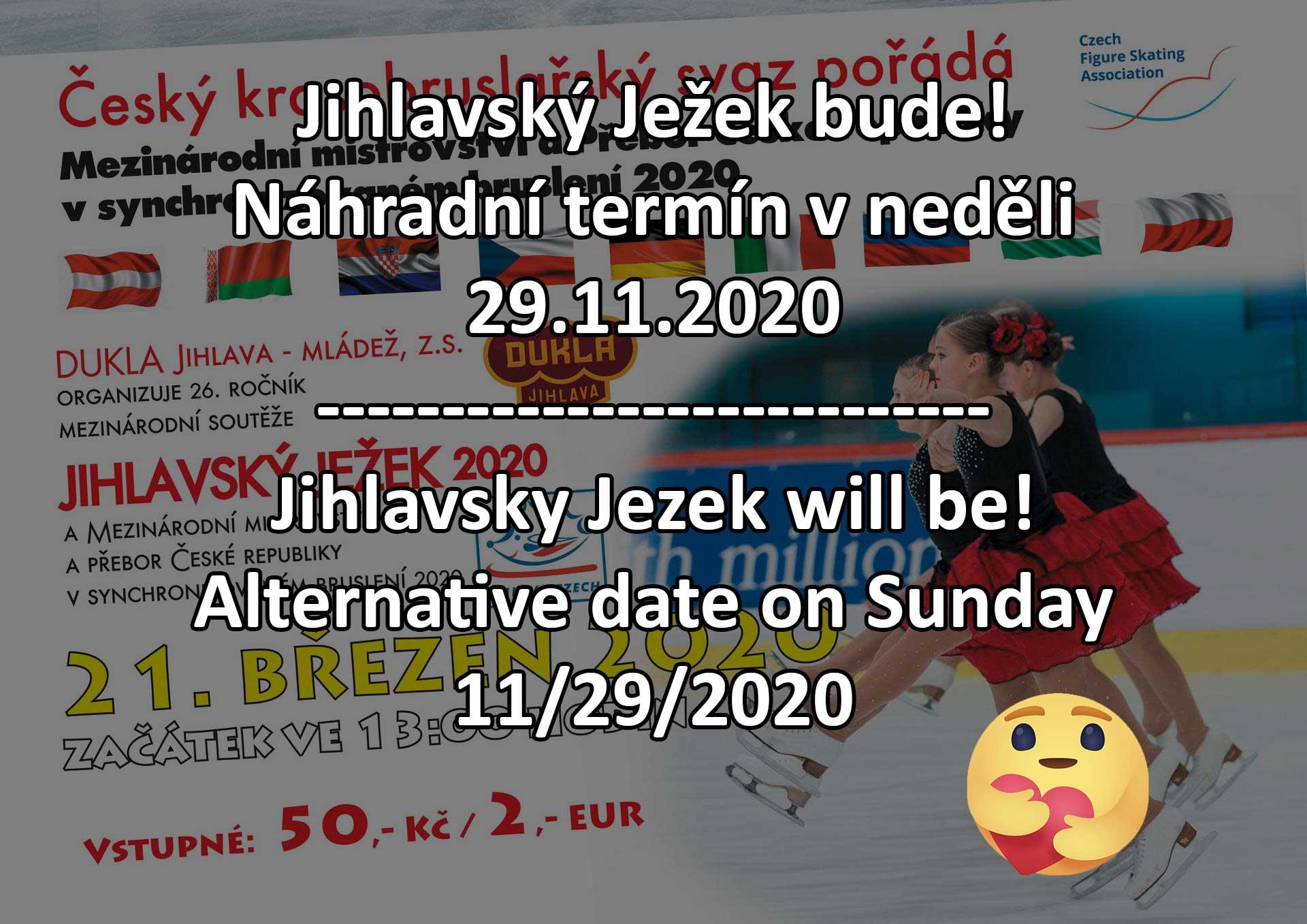 plakat Jihlavsky Jezek 2020 alternative